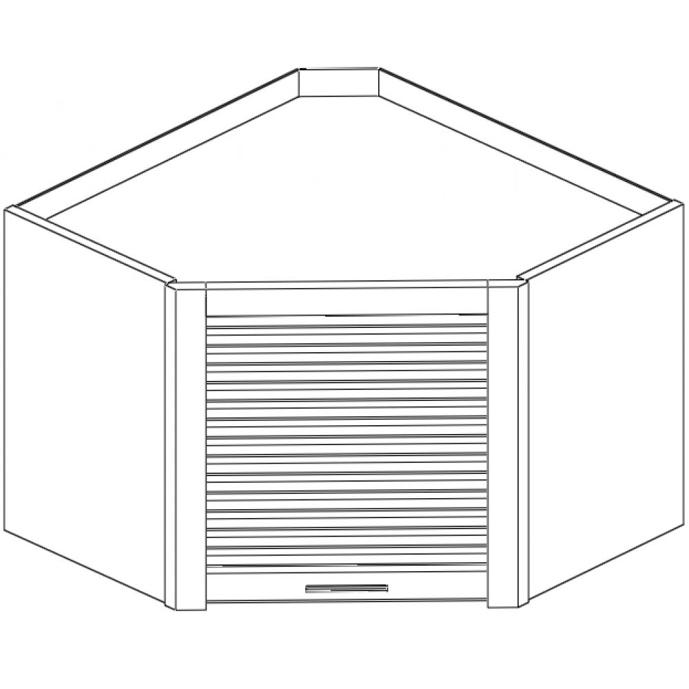 Counter Diagonal Garage Cabinet