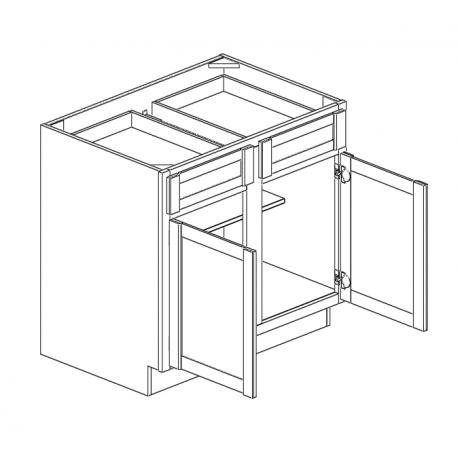 """Base Cabinet 33""""W Double Door"""