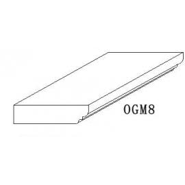 """Ogee Molding/Baseboard 8""""H"""