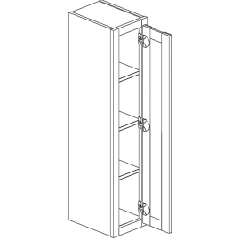 "Wall Cabinet 12""Wx42""H Single Door"