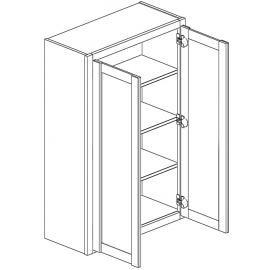 """Wall Cabinet 33""""Wx42""""H Double Door"""
