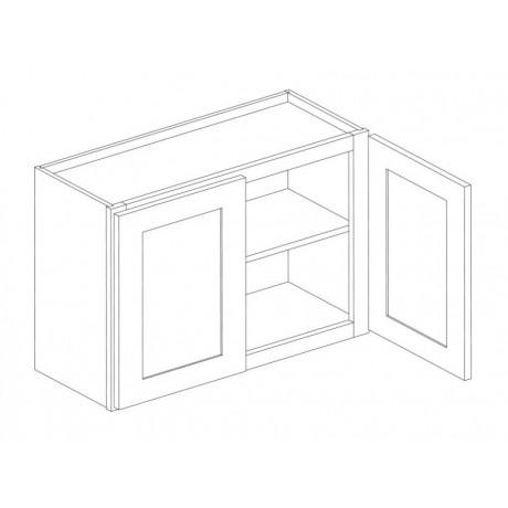 """Wall Cabinet 36""""Wx24""""H Double Door"""
