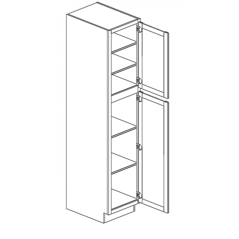 "Wall Pantry 18""Wx90""H"