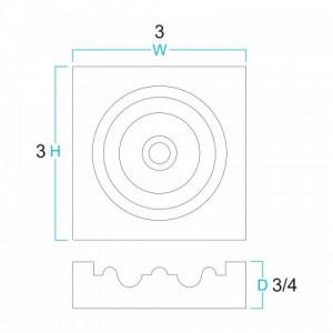 Accessories - Rosette Block