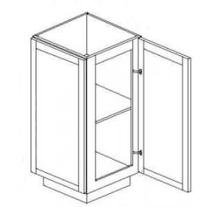 Base Cabinets - End Angle