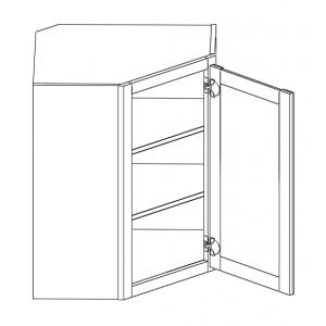 Wall Cabinets - Diagonal Corner